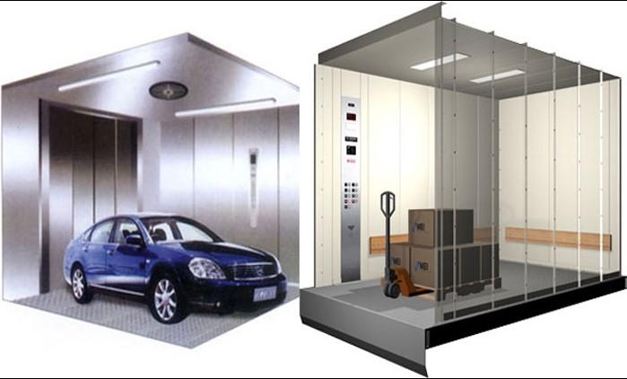 Giá thang máy tải hàng phụ thuộc vào nhiều yếu tố