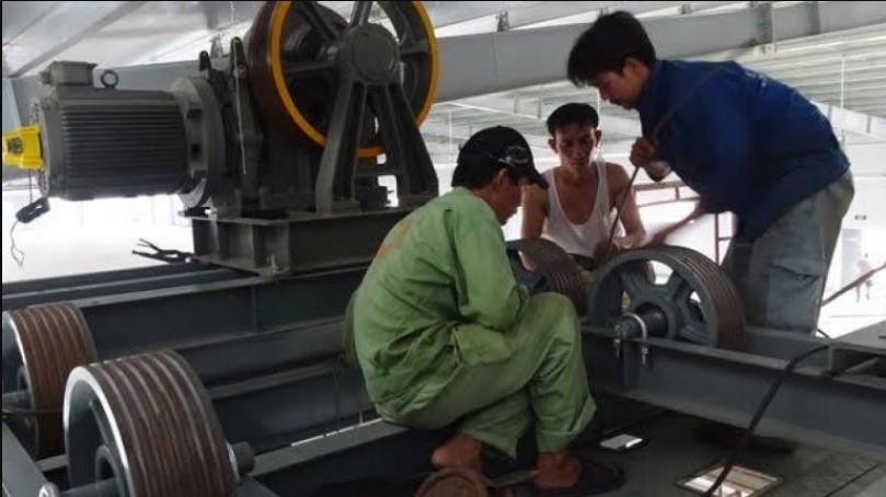Sửa thang máy khi bị lỗi vận hành