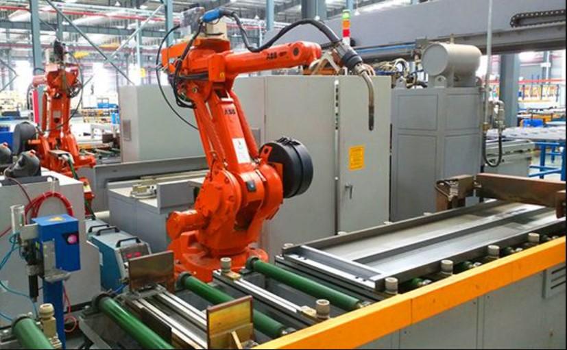 Thang máy được sản xuất trên dây truyền hiện đại