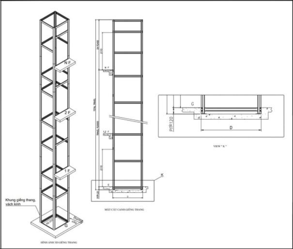 Nguyên lý hoạt động của thang máy không hố pit