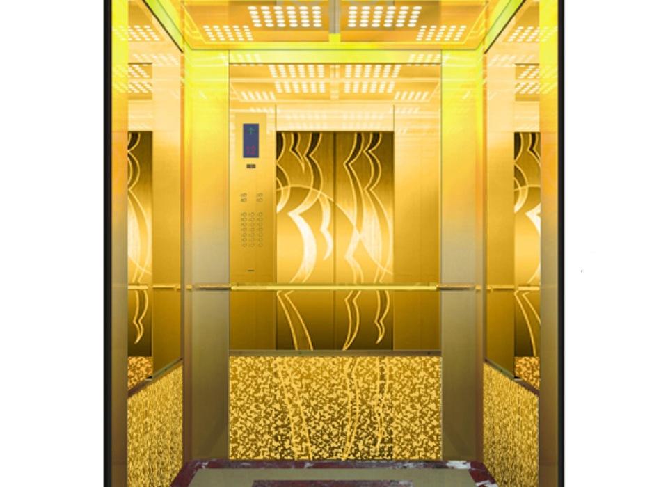 Nóc và vách cabin giúp tăng tính thẩm mỹ cho thang máy