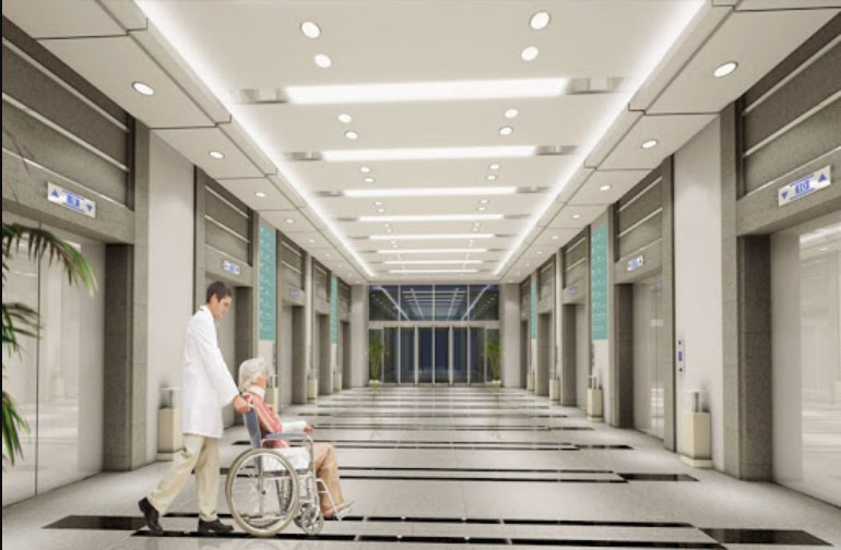 Thang máy bệnh viện có sự an toàn tuyệt đối