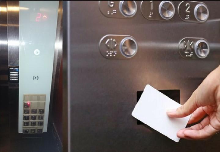 Thẻ từ thang máy có độ bảo mật rất cao